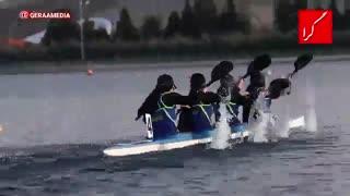 مسابقات قایقرانی آبهای آرام زنان قهرمانی کشور