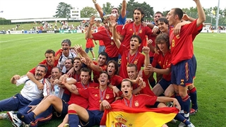 فوق ستارگان فوتبال اسپانیا در 19 سالگی