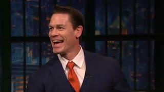 حضور John Cena در تاک شوی Seth Meyers