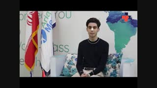 مروان بیماری از هلند که برای جراحی زیبایی با دکتر آمالی به ایران سفر کرد