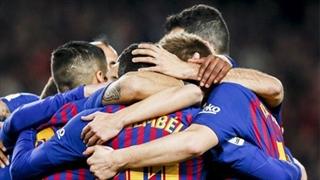 گل دوم بارسلونا به سلتاویگو توسط مسی در دقیقه 45