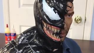 تایم لپس- ساخت مجسمه ونوم venom