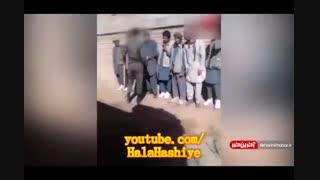 کلیپ خشونت سرباز ایرانی علیه افغانی ها