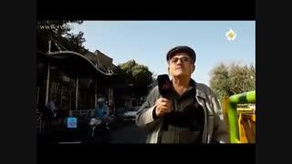 مشکلات ایستگاه اتوبوس ولیعصر تقاطع مولوی