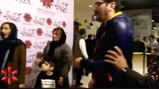 حضور هانیه توسلی در پردیس سینمایی باغ کتاب
