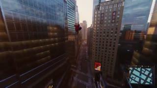 نمایشی از Marvel's Spider-Man با لباس جدید سم ریمی