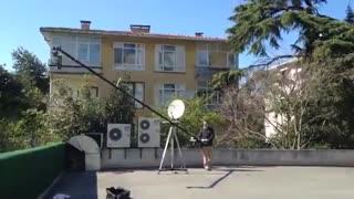 اجاره کرین فیلمبرداری / تجهیزات فیلمسازی / پارس لنز