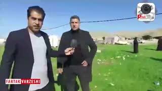 اختصاصی/ صحبت های علی دایی در هنگام تحویل خانه به زلزله زدگان