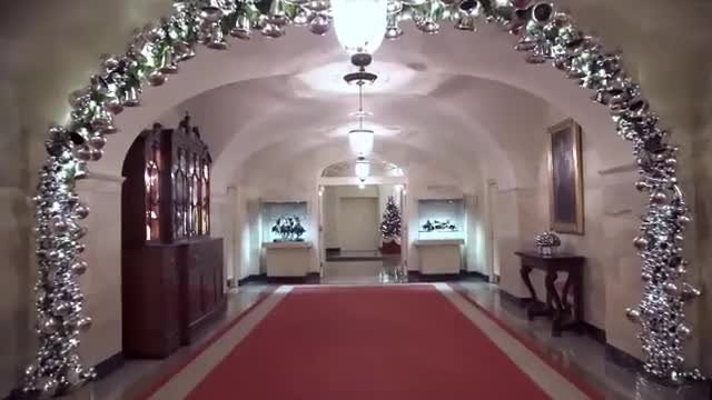 حال و هوای کریسمسی کاخ سفید