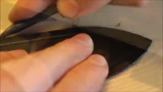 چگونگی ساخت کمربند چرم دست ساز