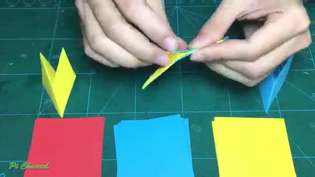 کاردستی ساده با کاغذ