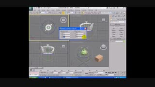 آموزش بحث کپی shift ،چرخش Rotate و skill در 3DMAX