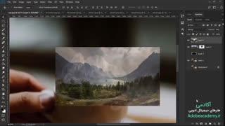 آموزش ویدیویی ترکیب تصاویر در فتوشاپ