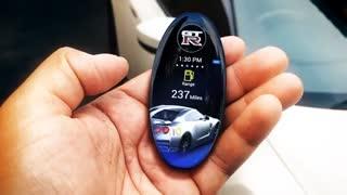 ریموت لمسی نیسان GT-R: جی دی