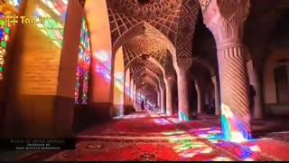تایم لپس مسجد نصیرالملک -شیراز