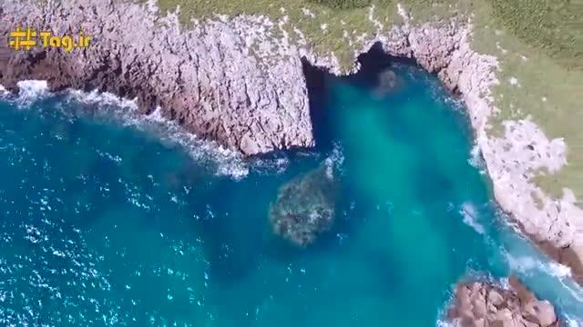 ساحل مخفی جزیره مریتا در مکزیک(فرشید اکبری)