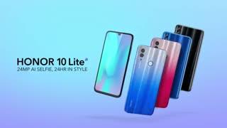 تبلیغ جدید گوشی  Honor 10 lite