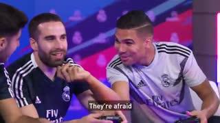 بازیکنان رئال مادرید در تورنمنت فیفا 19