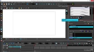 طراحی انیمیشن دو بعدی در نرم افزار هارمونی(کشیدن خطوط شکسته و بررسی حرکت ها)