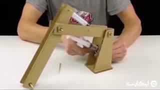 ترفندهای 119 ثانیه ای:چگونه یک ربات مقوایی بسازیم؟