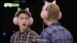 برنامه ی EXO ARCADE مسابقه ی The Shout in the Silence پارت 1