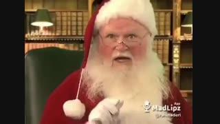تبریک کریسمس به ایرانیان از زبان بابا نوئل