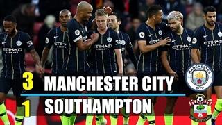 خلاصه دیدار ساوتهمپتون 1_3 منچسترسیتی (هفته بیستم لیگ برتر انگلیس)
