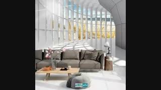 طراحی دیوار با سبک مدرن
