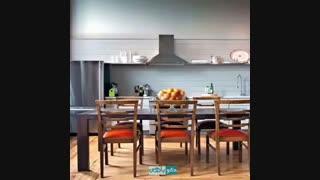 طراحی کابینت در آشپزخانه کوچک