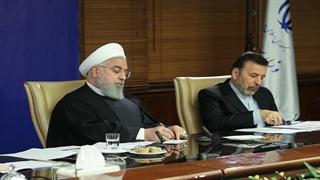 رئیسجمهور در جمع وزیر و مدیران وزارت نیرو