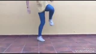 تمرین رقص شافل........+ت