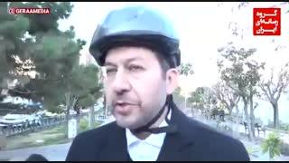 #قرار_سه_شنبه_ها؛ روایت گرا از یک روز #دوچرخهسواری با #شهردار_تهران