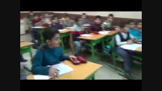 مانور زلزله - سه شنبه 97/10/11 - دبستان پسرانه ی رفاه