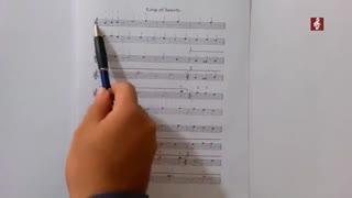 آموزش گیتار آهنگ سلطان قلبها
