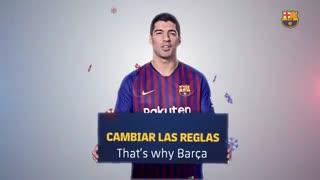 آرزوی بازیکنان بارسلونا در سال جدید