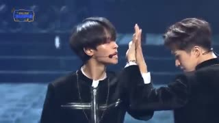 اجرای اهنگ Scentist از گروه vixx در KBS Song Festival