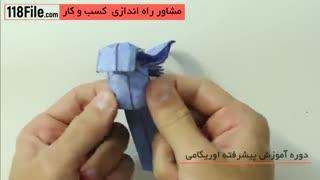 ایده های جدید اوریگامی-ساخت اوریگامی فرشته