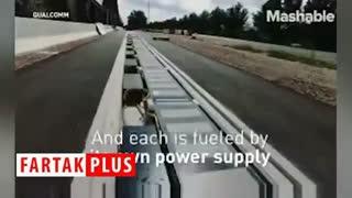 جادهای که خودرو الکتریکی شما را شارژ میکند