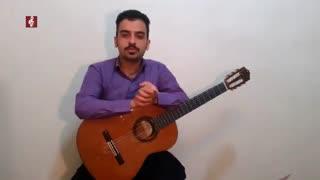 آموزش ریتم 2/4 گیتار پاپ