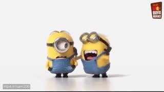 انیمیشن  کوتاه خنده دار مینیمون ها