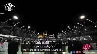 باز یه سلام بدیم برسه کربلا - سید رضا نریمانی | Urdu English Subtitle