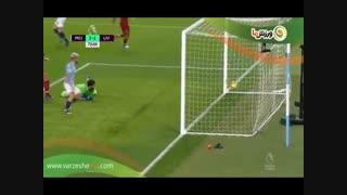 خلاصه بازی منچسترسیتی 2 - لیورپول 1 (14-10-1397)