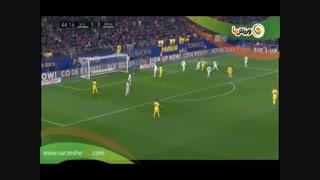 خلاصه بازی ویارئال 2 - رئال مادرید 2 (14-10-1397)