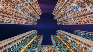 تصاویر خیره کننده از برج های هنگ کنگ (باکیفیت بالا ببینید)
