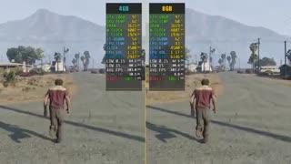 بررسی تفاوت استفاده از 4 یا 8 گیگابایت حافظه رم در 9 بازی مختلف