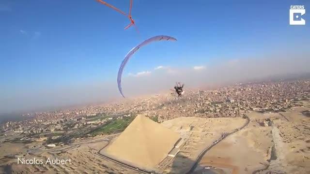 پرواز بر فراز اهرام مصر