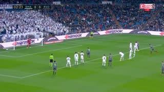 خلاصه دیدار رئال مادرید 0_2 رئال سوسیداد( هفته 18 لالیگا اسپانیا)