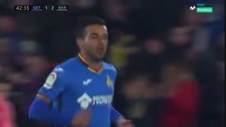 گل اول ختافه به بارسلونا توسط ماتا