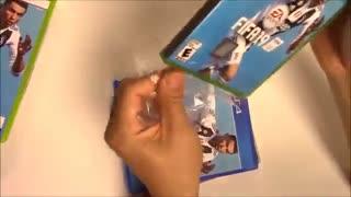 انباکسینگ بازی Fifa19 برای ps4 و xbox one و xbox 360 و ps3 و swich