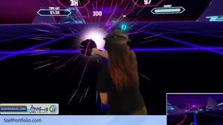 بازی واقعیت مجازی Synth Riders